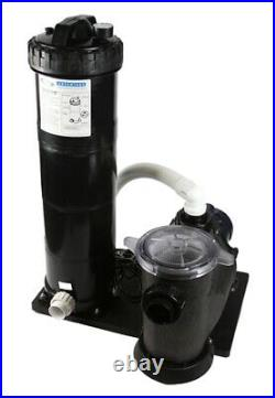1.5 hp Pool Pump and Filter Inground Above Ground In Ground