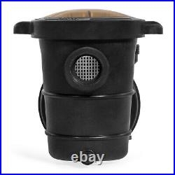 1.5HP 4500GPH Above Ground Swimming Pool Pump with Strainer LISTED 1-1/2 NPT