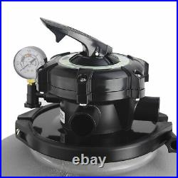 1.5HP Pool Pump 4500GPH with 19 Sand Filter Above Ground Swimming with Stand