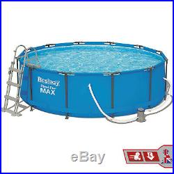 12 feet Steel Pro Frame Bestway Above Ground Swimming Pool 12 feet x 39.5 inch