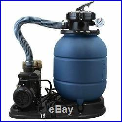 13 Sand Filter Pump for In or Above Ground Swimming Pool Filtering
