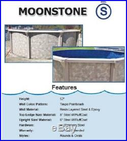 15' x 30' 52 Oval Above Ground Swimming Pool & Liner Ready to Ship IN STOCK