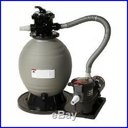 18 Sandman Sand Filter With 1Hp Tidalwave Pump-NE6150