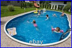 18x12ft oval Swimming pool kit above ground or in ground