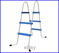 2/3 Jilong Step Pool Ladder For Above Ground Swimming Paddling Pool Wall Height