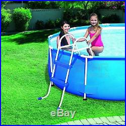 2 STEP POOL LADDER FOR ABOVE GROUND UP TO 33 / 84 cm SWIMMING POOL WALL HEIGHT