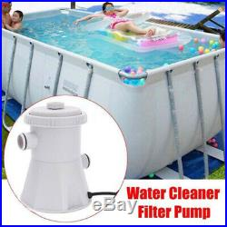 220-240V UK Summer Waves Swimming Pool Filter Pump For Above Ground Pools Clean