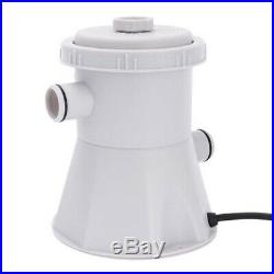 220V Summer Waves Swimming Pool Water Cleaner Filter Pump For Above Ground Pools