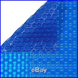 24ft x 12ft Geo-Bubble Blue 400 Micron Swimming Pool Cover Solar Heat Retention
