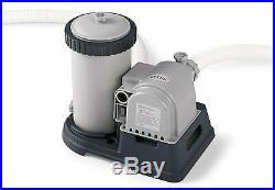 2500Gph Krystal Clear Cartridge Filter Pump Swimming Pools