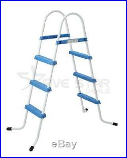 3 STEP POOL LADDER FOR ABOVE GROUND UP TO 33.5/ 90cm SWIMMING POOL WALL HEIGHT