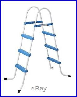 3 STEP POOL LADDER FOR ABOVE GROUND UP TO 35.5/ 90cm SWIMMING POOL WALL HEIGHT