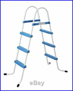3 Step Pool Ladder Above Ground Swimming Pools Safe Rung Ladder 33.5/ 90cm Wall