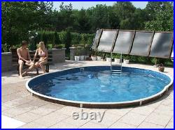 30x15ft oval Swimming pool kit above ground or in ground
