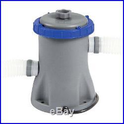 530gal Flowclear Bestway Pool Filter Pump Swimming Pool Up To 15ft