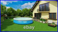 9in1 SWIMMING POOL BESTWAY 457cm 15ft Garden Round Above Ground Pool + PUMP SET