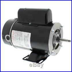 A. O. Smith BN37V1 1HP 2 Speed 115V Thru-Bolt Motor for Pool or Spa