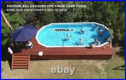 Above Ground Pool Sterns Skimmer Box COMPLIES WITH SAFETY RULES