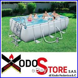 Above Ground Swimming Pool Bestway 56441 Measures 404 x 201 x 100 H cm Calling