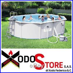 Above Ground Swimming Pool Bestway 56586 Size 500 x 360 x 120 H cm Call x