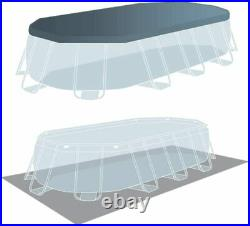 Above Ground Swimming Pool Intex Prism Frame Oval 26796 503x274x122cm