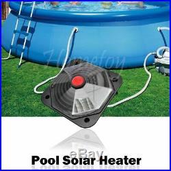 Above Ground Swimming Pool Solar Heater Hot Water Heating Sun Powered Panel
