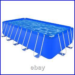 Above Ground Swimming Pool Steel Rectangular 540 x 270 x 122 cm