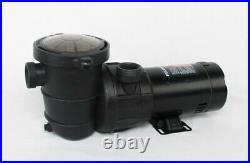 Above ground swimming pool pump 1 1/2 hp 110 v Horizontal Discharge 1.5