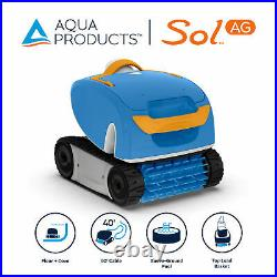 Aqua Products Sol AG Auto Robotic Pool Cleaner for Above Ground Swimming Pools