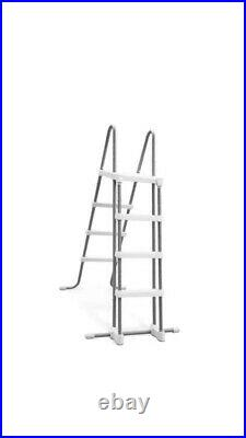 BESTWAY 14ft X 42 (4.27m X 1.07m) STEEL PRO MAX ABOVE GROUND POOL SET