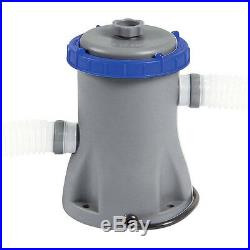 BESTWAY FLOWCLEAR 800gal FILTER PUMP FOR POOLS UP TO 12ft INCLUDED 32mm FITTINGS