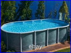 Best Oval Above Ground pool for garden. Outdoor swiming pool for family