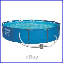 BestWay 12ft x 30inch Steel Pro Max Above Ground Swimming Pool With Filter