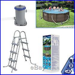 Bestway 12 feet x 39.5 inch Steel Frame Pro Garden Swimming Pool Above Ground