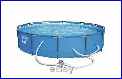 Bestway 12' x 30 Steel Pro Frame Swimming Pool Set Above Ground