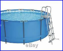 Bestway 12ft x 48 Steel Framed Above Ground Pool Set BW 56420 48 deep