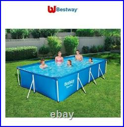 Bestway 13ft Rectangular Above Ground Steel Pro Swimming Pool Last One