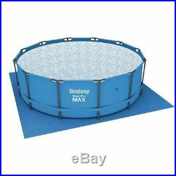 Bestway 15ft x 48 Steel Pro MAX Above Ground Frame Swimming Pool Set (56438)
