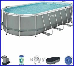 Bestway 18' X 9'X 48 Frame Above Ground Swimming Pool set (FAST SHIP)