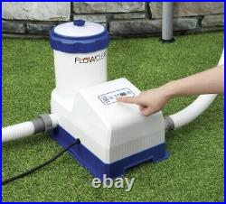 Bestway 2000 GPH Flowclear Smart Touch Above Ground Pool Filter Pump System