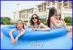 Bestway 244cm 6cm Easy Set Up Inflatable Above Ground Swimming Pool Set INHAND