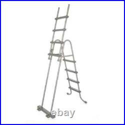 Bestway 4-Step Pool Safety Ladder Flowclear 122cm Above Ground Step Stairs