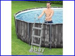 Bestway 5614Z Frame Pool Above Ground Swimming Pool 14FT 42'Steel Pro 427x107cm