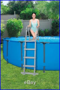 Bestway 56420 Above Ground Swimming Pool Round Steel Pro MAX 366x122 cm