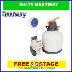 Bestway 56475 Rectangular Power Steel 732x366x132 cm Above Ground Swimming Pool