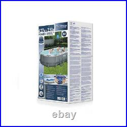 Bestway 56620 Oval Above Ground Pool 427x250x100cm Power Steel AVAILABLE NOW