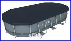 Bestway 56710 Power Steel Oval Above Ground Pool 549x274x122 cm