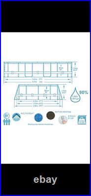 Bestway 56714 Oval Above Ground Pool With Swim Vista Porthole 427x250x100 Cm