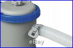 Bestway 58383 Filter Pump Flowclear Pool Cleaner Filter Pool Pump Pump 2006L/H