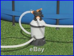 Bestway 58515 Sand Filter Pump for Flowclear Swimming Pool, 2,006L/h